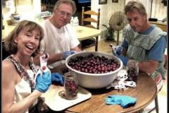 Real Family Fun Pitting Cherries